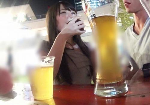 【泥〇ぶっ壊れ姉さん】ビールフェスで色白外資系OLをナンパ!酔ってオンナの本性暴露ww